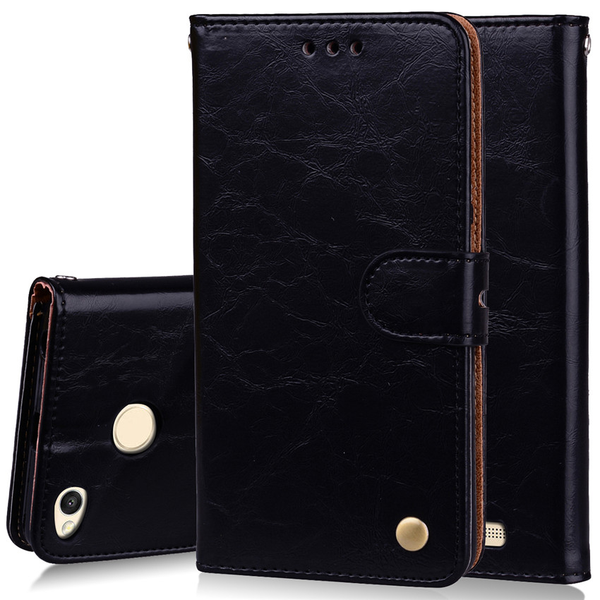 Business Leather Wallet Flip Case For xiaomi redmi Note 4X Leather Case For Xiaomi Redmi Note4X Cover  Luxury Fitted Phone Cases