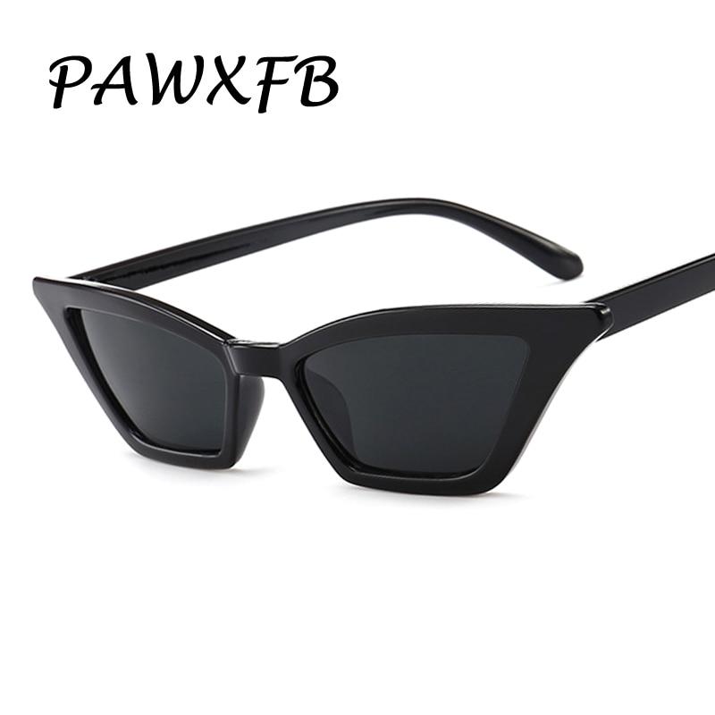 Pop Age 2018 New Hotselling Small Frames Cat Eye Black Sunglasses Women Sun Glasses Fashion Men Sun Glasses Lentes de sol 400UV