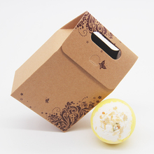 Tsing Bath Bomb Jasmine 120G Handmade Bubble SPA Gift Set Box Natural Essential Oil Moisturizing  Ball