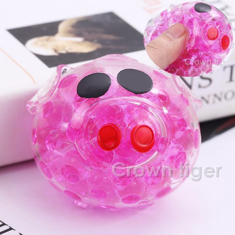Tpr Squeeze Fun Squishys Cute Orbeez Ball Pig 2018 Squishy Funny Gadgets Anti Stress Novelty Antistress Ball Toy Kid Children To Prevent And Cure Diseases Novelty & Gag Toys