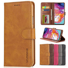Luxury Flip Case For Samsung Galaxy A10 A20 A30 A50 A60 A70 Wallet Cover Leather for Coque