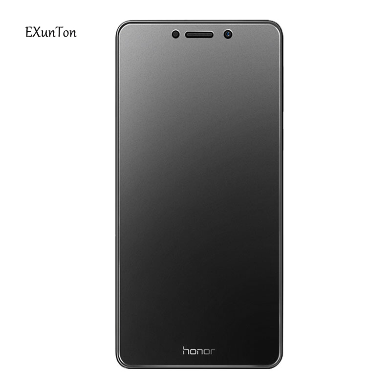 EXUNTON For Huawei Honor 6X 6A 2.5D Full Cover Matte Frosted No Fingerprint Tempered Glass For Honor 6X 6A Screen Protector Film