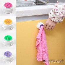 Self-Adhesive Cloth Clip Rack Storage Creative Multi Use Towel Hook kitchen Hand