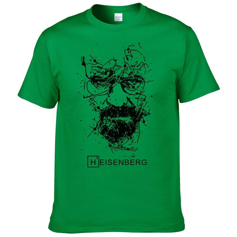 2017 New Fashion Breaking Bad T Shirts Men Heisenberg Camisetas Hombre Men Cool Tee Shirt Tops Short Sleeve Cotton T-shirts #191 6