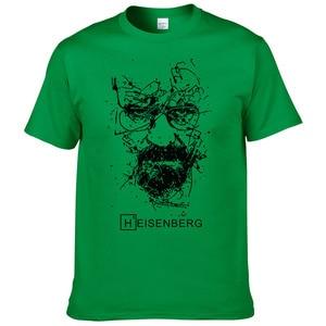 Image 5 - 2017 אופנה חדשה גברים חולצות T הייזנברג Breaking Bad Camisetas Hombre גברים חולצות חולצות חולצות שרוול קצר חולצת טריקו מגניב #191
