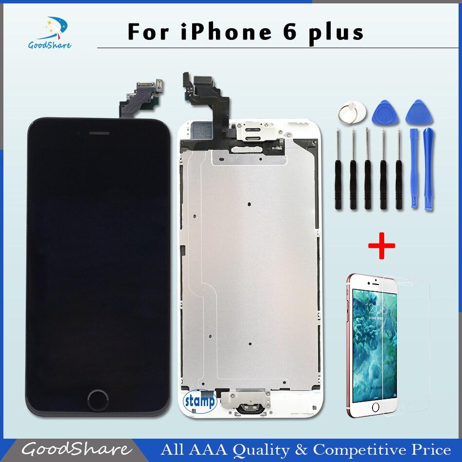 ФОТО Free DHL 1pcs Pantalla for iPhone 6 plus