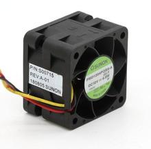 Ventilateurs de serveur à grande vitesse, pour Sunon, original PMD1204PQBX A, 4CM, 4028 12V, 6.8W, 40x40x28mm