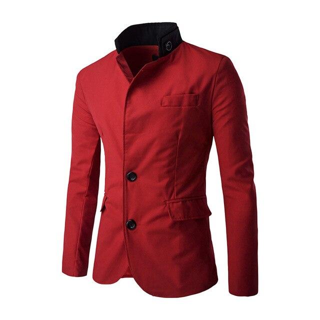 71e031952 New winter man neckline bump color single row two grain of leisure suit  coat gentleman party dresses