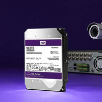 """WD Purple 10TB Surveillance Hard Disk Drive SATA 256MB 3.5"""" Interal HDD for cctv Camera AHD DVR IP  NVR WD102EJRX 1"""