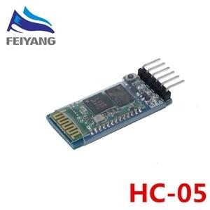 Image 2 - 1pcs HC05 HC 05/HC 06 JY MCU anti reverse, integrated Bluetooth serial pass through module, HC 05 HC 06 master slave 6pin/4pin