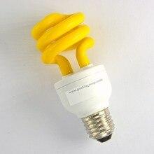 12W Mosquito Repel Lamp Night light E27 110V 220V  Energy saving lamp ESL CFL  Fly repel  Repellent lamp light 6 PCS PACK SALE