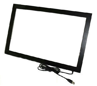 Free Shipping! 55 inch 10 points multi touch screen overlay kit for lcd monitor, 55 inch IR Touch Frame without glass free shipping 10 1 inch touch screen 100
