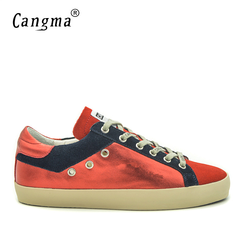 CANGMA Mens Retro Shoes Flats Cow Suede Shoes Genuine Leather Red Shoes For Men Brand Footwear Men Sneakers Trainers Plus SizeCANGMA Mens Retro Shoes Flats Cow Suede Shoes Genuine Leather Red Shoes For Men Brand Footwear Men Sneakers Trainers Plus Size