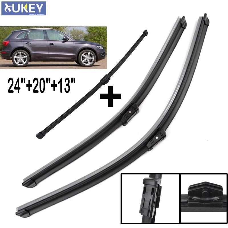 Xukey 24''20''13'' Windshield Windscreen Wiper Blades For