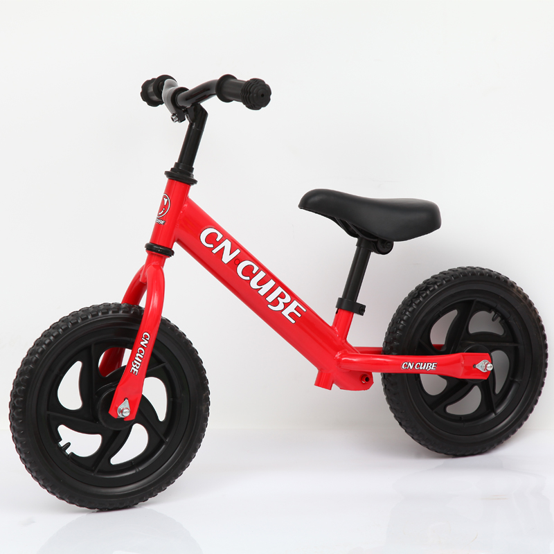 Two Wheel Children Balance Bike 12inch 2-6years Baby Walker Portable Bike Kids Bicycle No Foot Pedal New Riding Toys