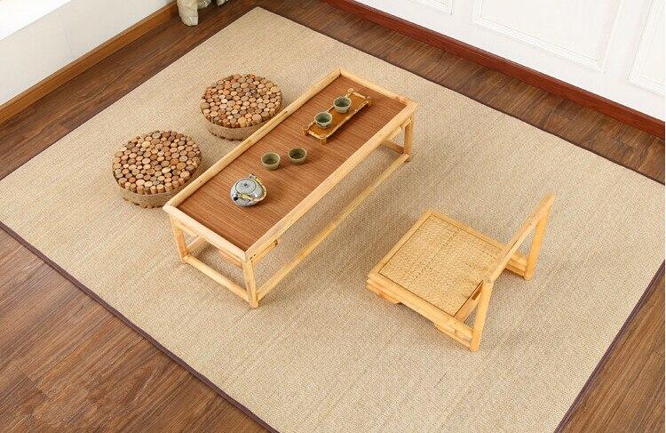 Tappeto Morbido Salotto : Cm bambù tappeti moquette pavimento quadrato tappeto