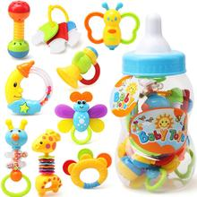 Baby Toy 0-1 Years Old Childrens Hand Music Rattle Guar Spray Bottle Set of 9