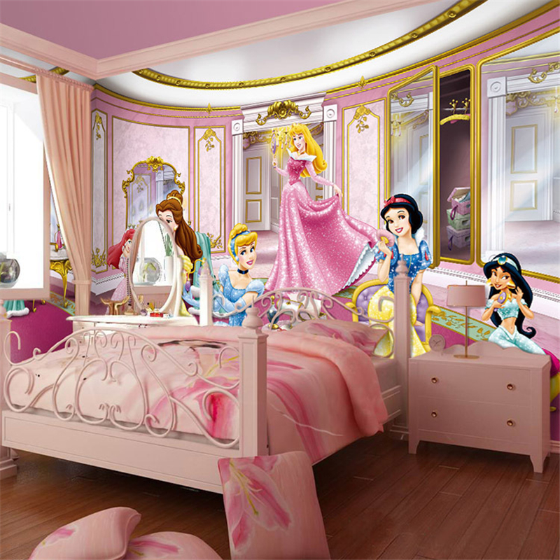 Online buy wholesale themes rooms from china themes rooms for Fairy princess mural