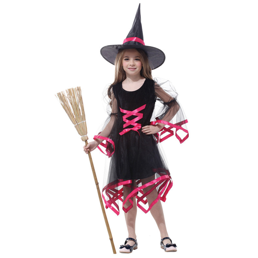 Popular Witch Girl Costume-Buy Cheap Witch Girl Costume lots from ...