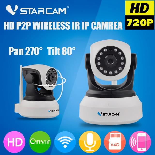 Vstarcam C7824WIP WIFI Camera Wireless IP Camera Wi-Fi CCTV Onvif Surveillance Camera 720P Motion Detection Home SD Cared Camera