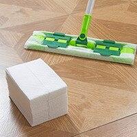 Electrostatic Dust Wipe Clean Paper Plates Disposable Wet And Dry Electrostatic Dust Mop Paper 50