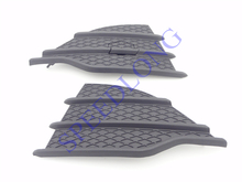 2 Pcs/Pair RH and LH Front bumper side triangle grille cover for Ford escape 2013-2015