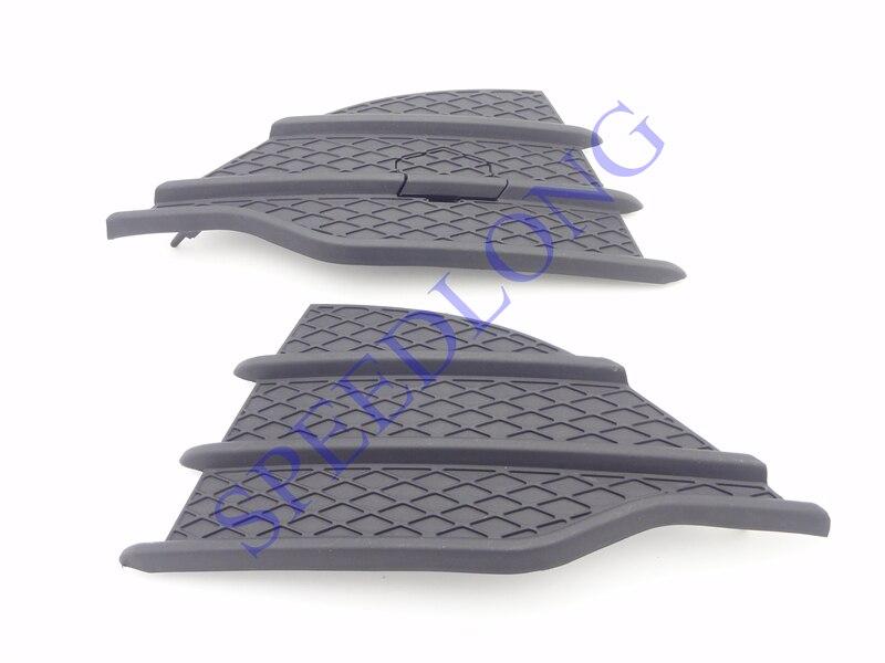 2 pcs/par RH e LH amortecedor Dianteiro inferior grille grill cobrir guarnição para Ford Escape 2013-2015