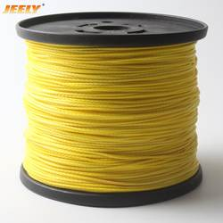 JEELY 550lbs 1,6 мм 1000 м 16 прядей волокна лебедки шнур буксировки СВМПЭ спектров лебедки