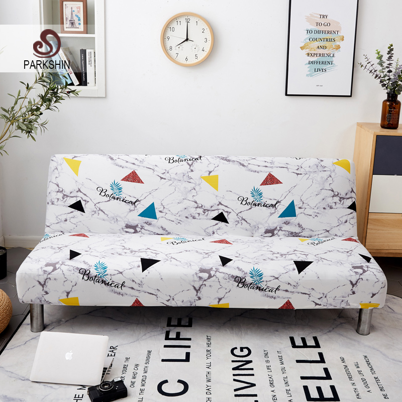 Parkshin Batanical All inclusive Folding Sofa Bed Cover Tight Wrap Sofa Towel Couch Cover Without Armrest housse de canap cubre-in Sofa Cover from Home & Garden