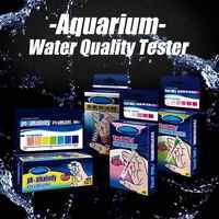 Adeeing Aquarium Fish Tank PH NO2 NO3 Water Quality Test Kit