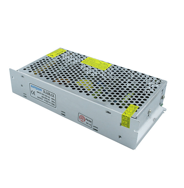 AC110V/AC220V to DC12V 10A switching transformer 120W power adapter high quality warranty 2 years