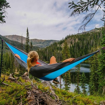 Portable Hammock Double Person Camping 1