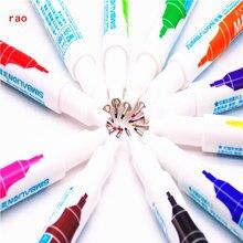 0,5 мм, 11 цветов, маркер, ручка, очень тонкая, на спиртовой основе, чернила, Перманентный знак на пленке/дереве/ткани/металле/стекле