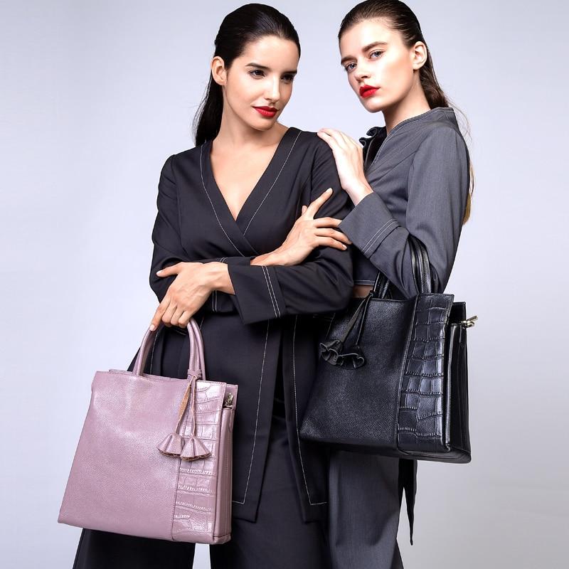 ZOOLER bags handbags women famous brands Elegant capacity OL stylish genuine lea