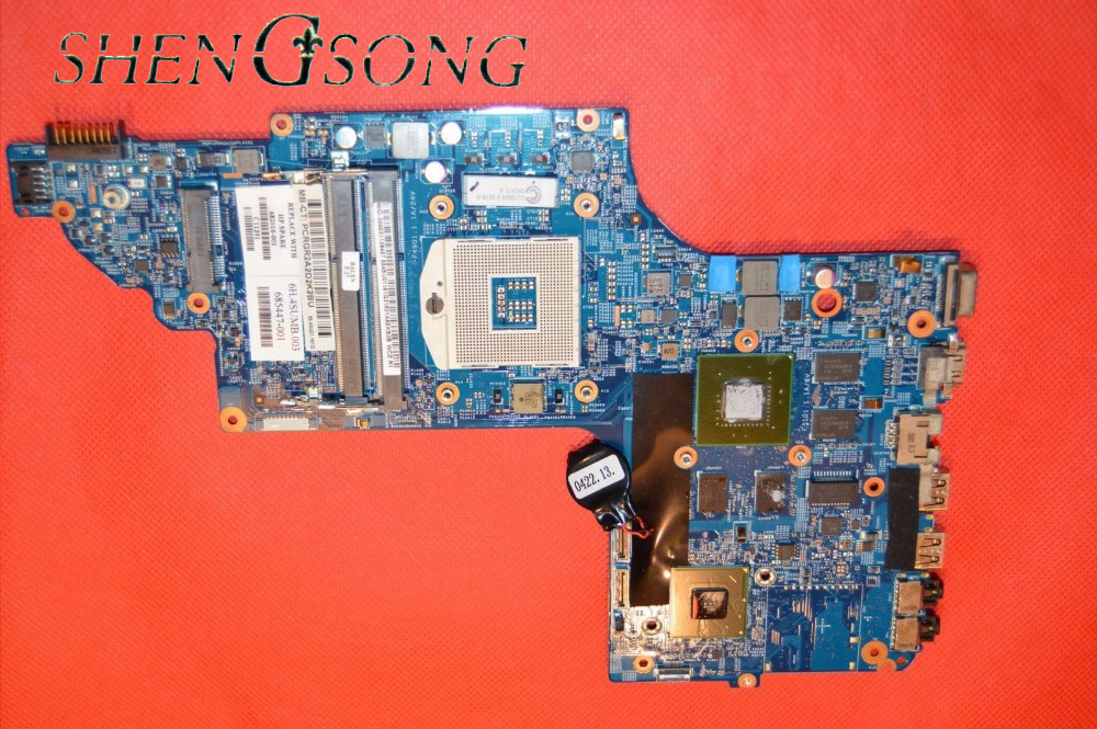 682016-001 48.4ST10.031 for HP DV7-7000 Laptop motherboard DV7T NOTEBOOK 682016-501 HM77 630M/2G 100% fully tested !! 574680 001 1gb system board fit hp pavilion dv7 3089nr dv7 3000 series notebook pc motherboard 100% working