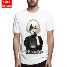 NIER AUTOMATA T shirt HOT NEW DESIGN Tee Men Anime Homme Shirt O-neck BONADIAO Camiseta