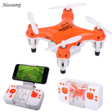 Niosung High Quality L6058W 2.4G 4CH 6Axis RC 3D Roll Quadcopter Mini Pocket Drone WiFi Camera FPV