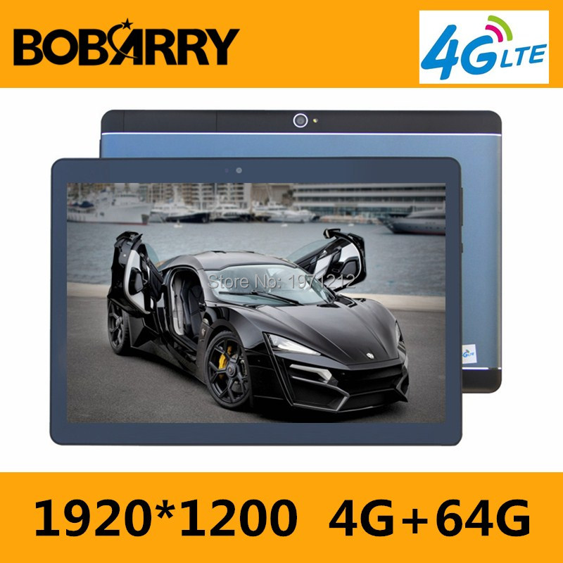 BOBARRY T900 10.1 inch tablet PC Android 7.0 Phone call 3G 4G LTE octa core RAM 4GB ROM 64GB 1920x1200 IPS Dual SIM tablets Pcs bobarry b880 8 inch tablet pc 3g 4g lte octa core 4gb ram 64gb rom dual sim 8 0mp android 6 0 gps 1280 800 hd ips tablet pc 8