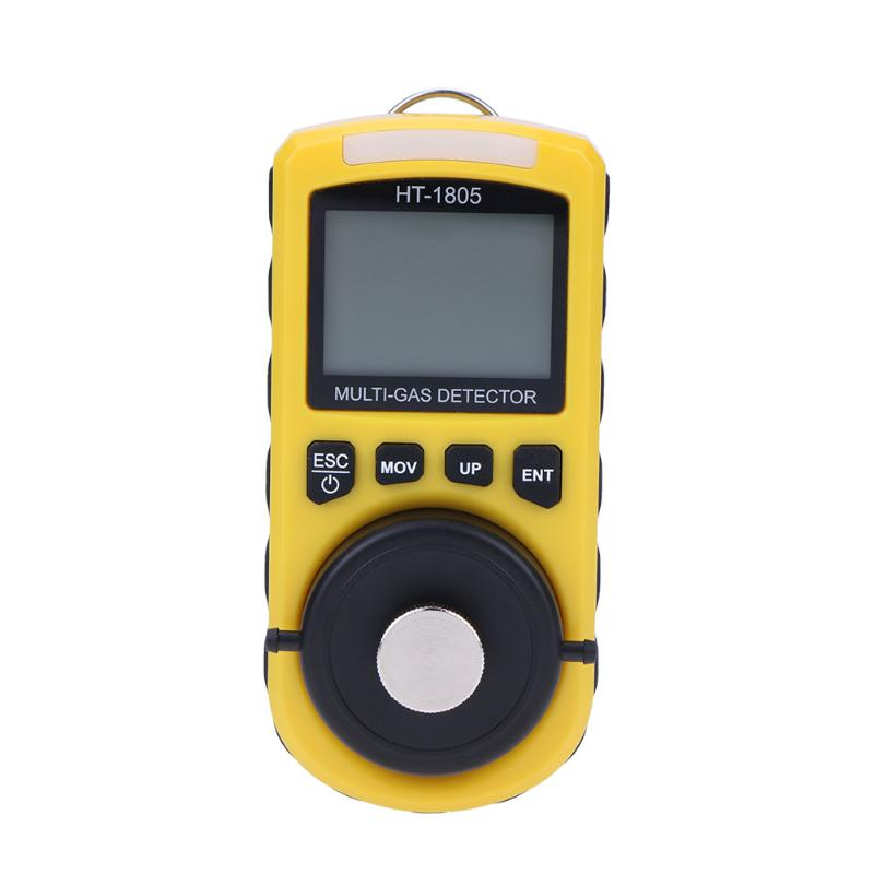 4 in 1 Gas Detector Handheld Gas Monitor Oxygen Carbon Monoxide Hydrogen Concentration of the LEL Portable Tester Gas Analyzer gm8802 carbon gas detector handheld co2 monitor tester carbon dioxide detector temperature humidity test 3 in1 co2 meter