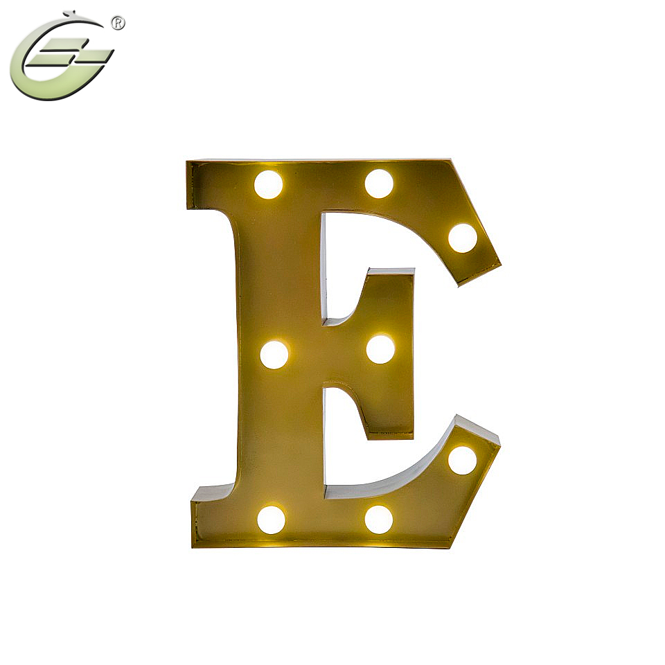 Letter E Wall Art Impressive Led Wall Art Battery Operated 12 Inch ...