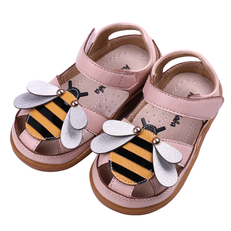 Girls Sandals Children Shoes Toddler 2020 Summmer High Quality Kids Pink Casual Shoes Little Girls PU Leather Mary Jane