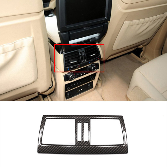 Rear Air Conditioner Outlet Frame Decoration Cover Trim For Bmw E70