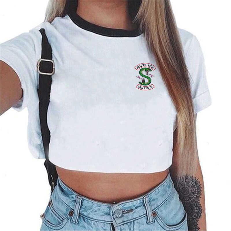 Verão moda feminina tshirts tank tops abacate sexy colheita top harajuku casual natal t camisa femme corte streetwear