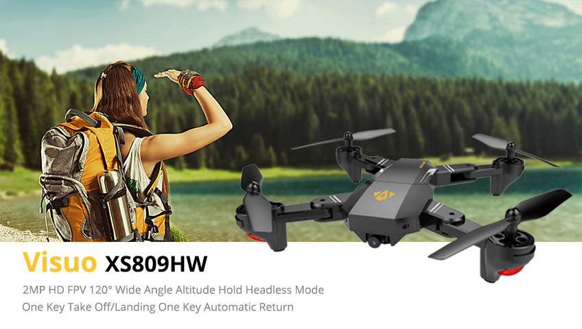 Professional Selfie Drone Optical Follow Me RC Quadcopter with Dual Camera HD 1080P FPV Helicopter VS VISUO XS809S SG700 E58 1