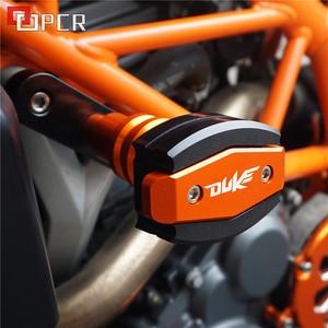 Image 4 - Высококачественные слайдеры рамы с ЧПУ мотоцикла, защита от ударов, защита от падения Для KTM Duke 125 200 390 Duke