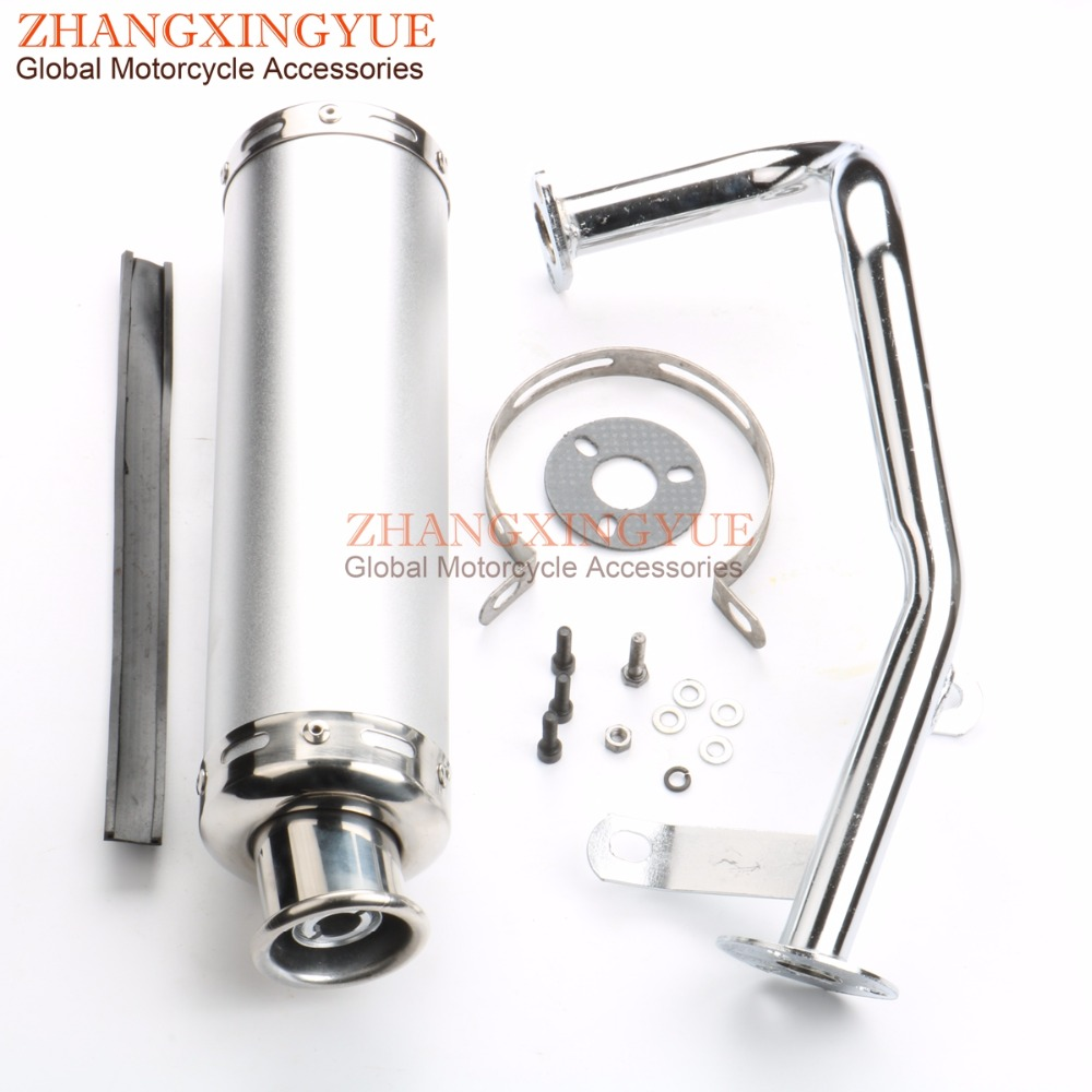 US $74 99  Performance Scooter Exhaust System for Gy6 50cc QMB139 Chinese  Scooter Parts-in Exhaust & Exhaust Systems from Automobiles & Motorcycles  on