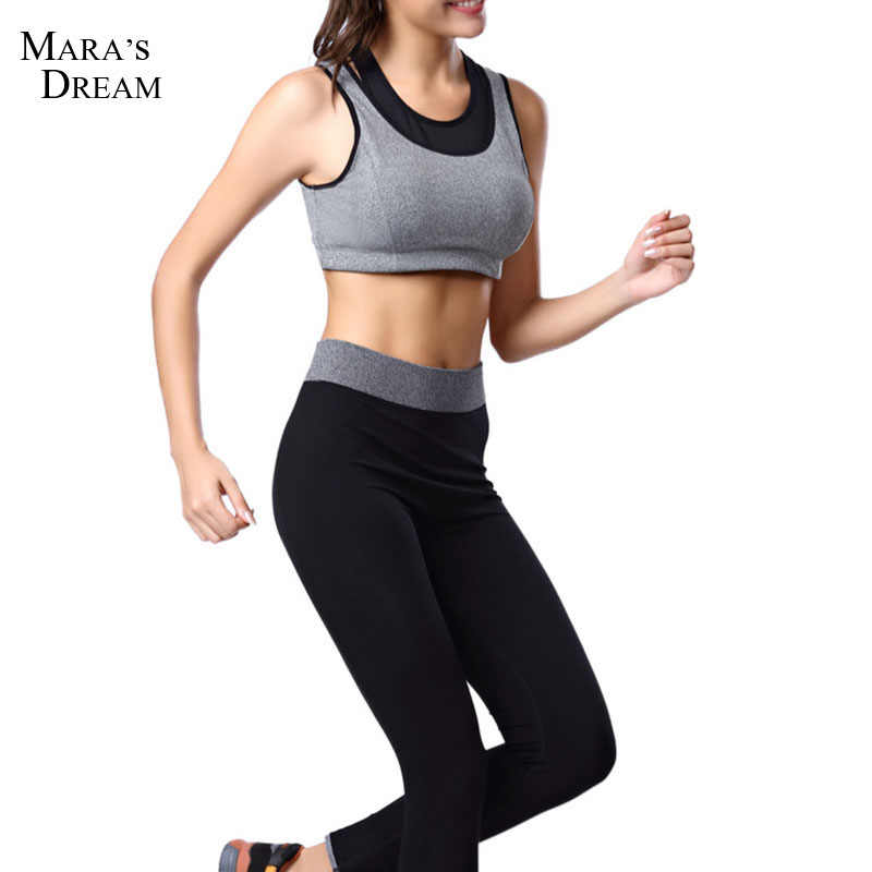 2cf8401466e1c1 2017 Stretch Workout Clothes Female Models Sport Jogging Trousers Slim Was  Thin Nine Points Aerobics Tight