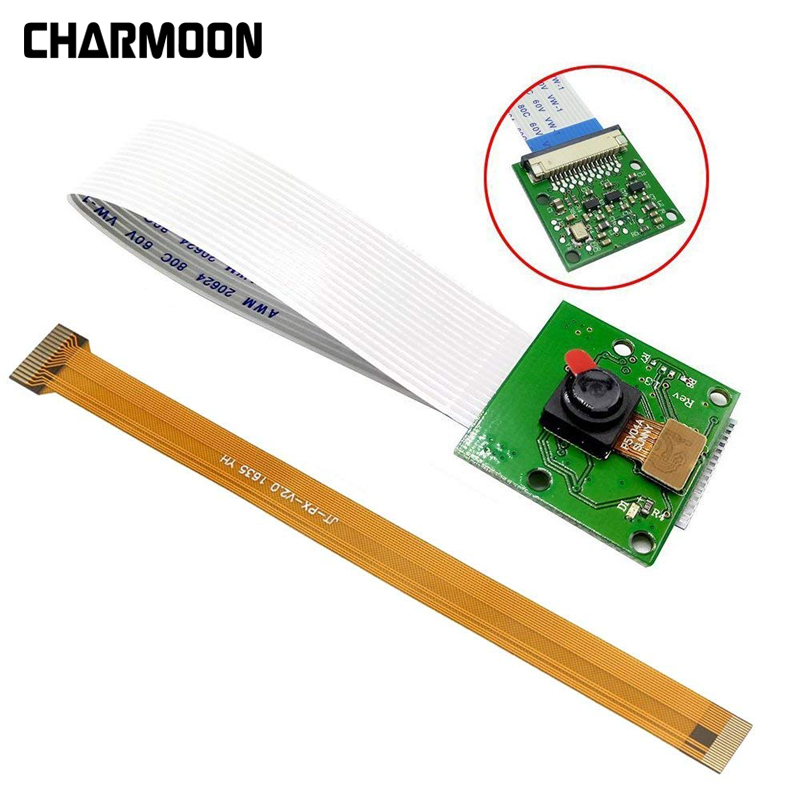 For Raspberry Pi 3 Model B+ Camera Module 1080p 720p For Raspberry Pi Camera 5MP Webcam Video Camera  For Raspberry Pi 4 Model B