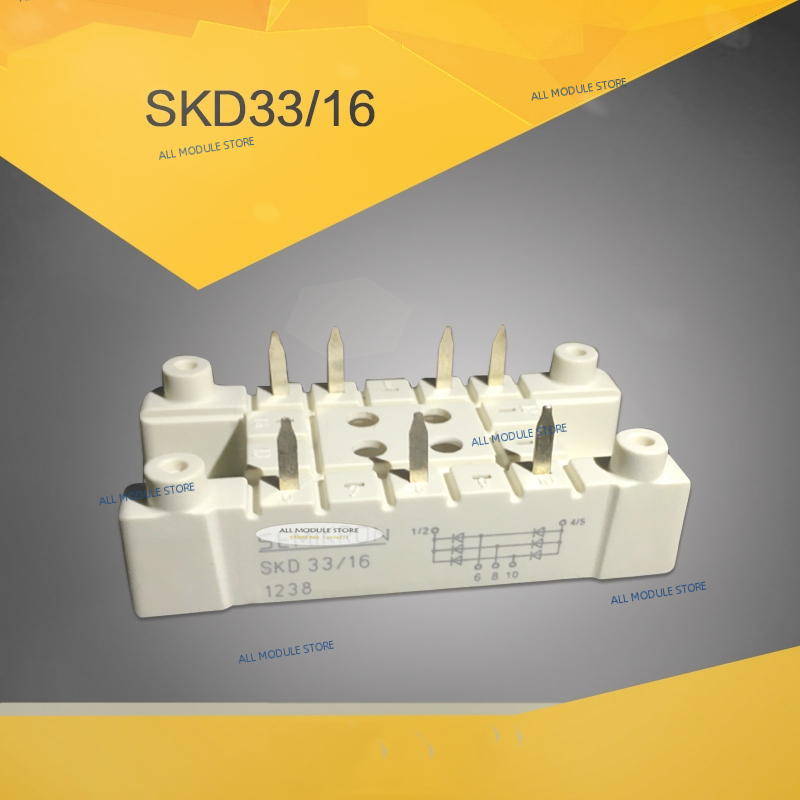 SKD33/16  SKD 33/16  FREE SHIPPING NEW AND ORIGINAL  IGBT MODULE