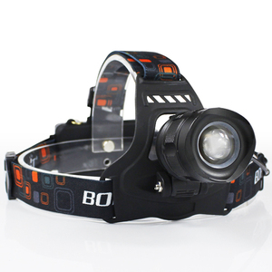 Image 2 - BORUiT RJ 2157 XM L2 LED Headlamp 3000LM 5 Mode Zoom Headlight Rechargeable 18650 Power Bank Waterproof Head Torch for Camping